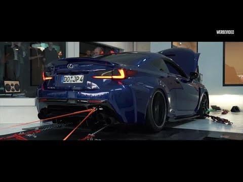LOUD DYNO! JP's Lexus RCF V8 w/ ARMYTRIX Exhaust - SAVAGE SOUNDS!