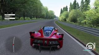 Assetto Corsa (PS4) - Ferrari FXX K Gameplay @ Spa Francorchamps [1080P 60FPS]