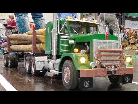 RC MODEL TRUCKS IN MOTION AMAZINGLY DEATAILED MODELS IN ACTION
