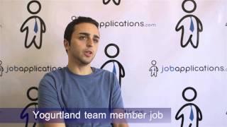Yogurtland Interview - Team Member