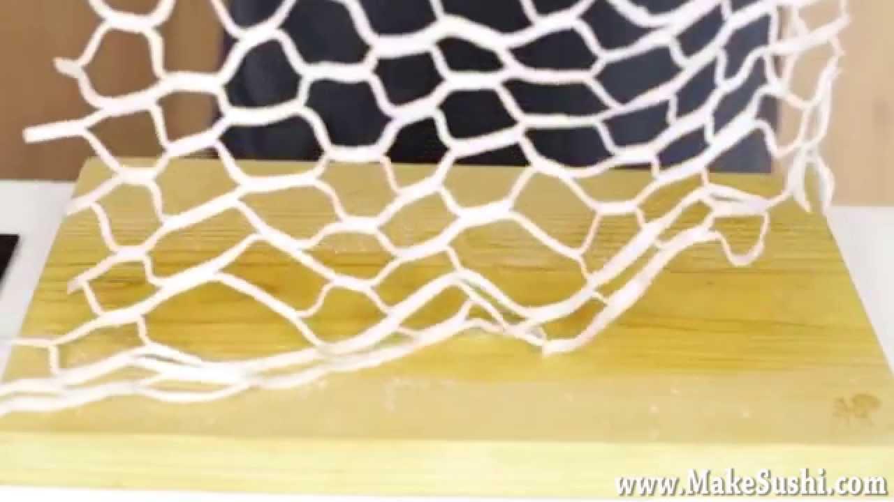 Vegetable Net Cutting