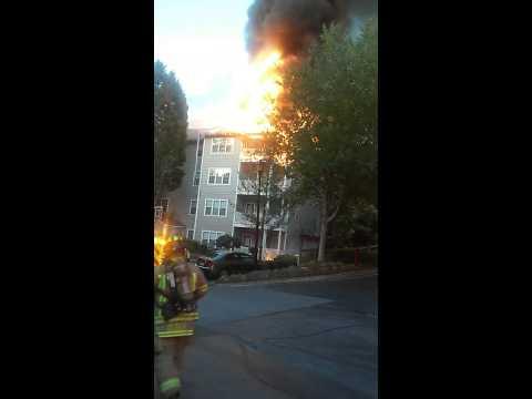 Sandy Springs Apartment Fire