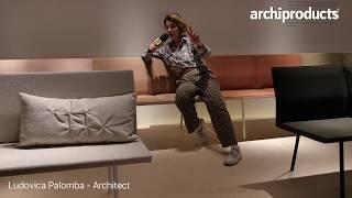 Salone del Mobile.Milano 2018 | VICCARBE - Ludovica Palomba presenta Torii, la nuova bench