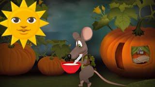 Мультяшная мышка в подарочном видео - очень крут.Подарок  малышу #Мирпоздравлений