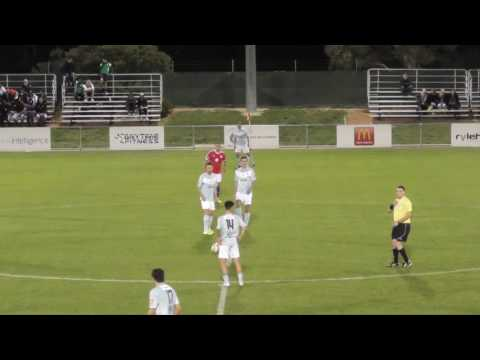 BUFC 2017 Mens NPL Rnd3 Vs Canberra FC highlights