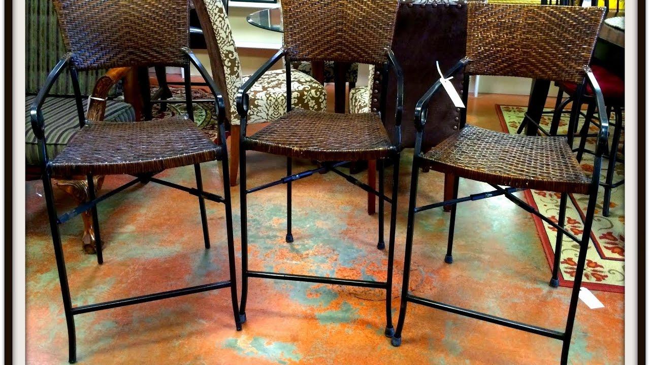 wrought iron bar stools with backs - Wrought Iron Bar Stools