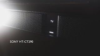 SONY HT CT290 Sound Bar розпакування та огляд