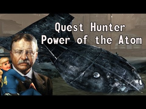 Teddy Roosevelt Saves the Day| Fallout 3 Quest Hunter: The power of the Atom