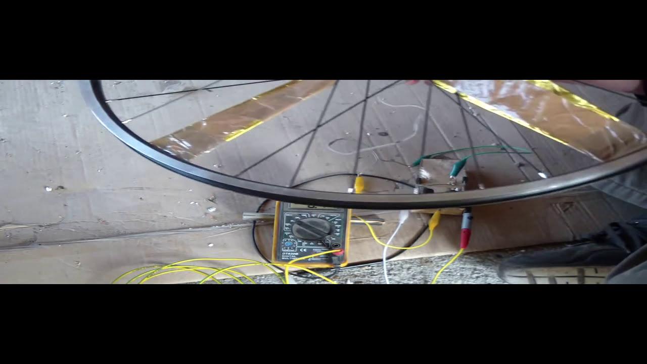 Windrad Generator Eigenbau 11 Spannungsverdoppler Testen