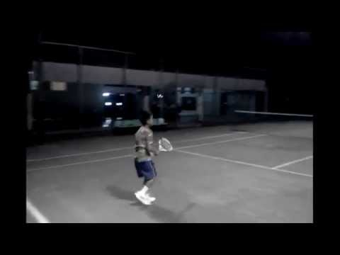 10 years old indonesian tennis stars in actions