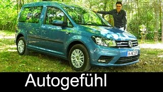 All-new VW Volkswagen Caddy 4th gen FULL Review test driven 2016 - Autogefühl