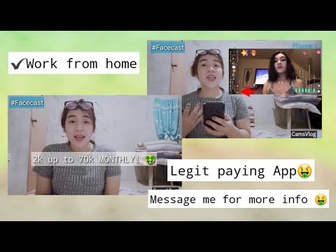 WORK FROM HOME   Facecast Livestreaming