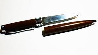 [DIY] Как сделать скрытый нож в ручке