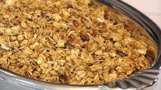 Maple-nut Granola -- Lynn's Recipes