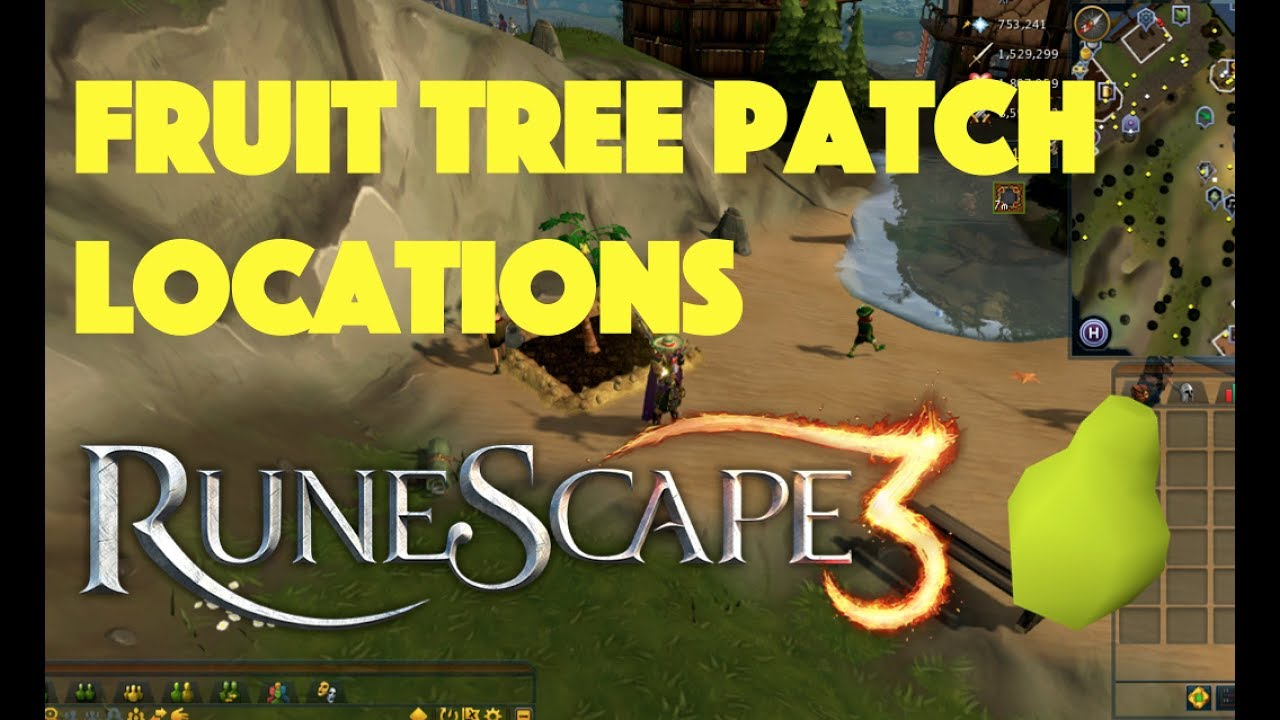 Fruit Tree Patch Locations Runescape 3 Youtube