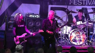 """Tygers Of Pan Tang """" Glad Rags / Slave to freedom """"  live August 5th 2018 at """"A New Day Festival"""