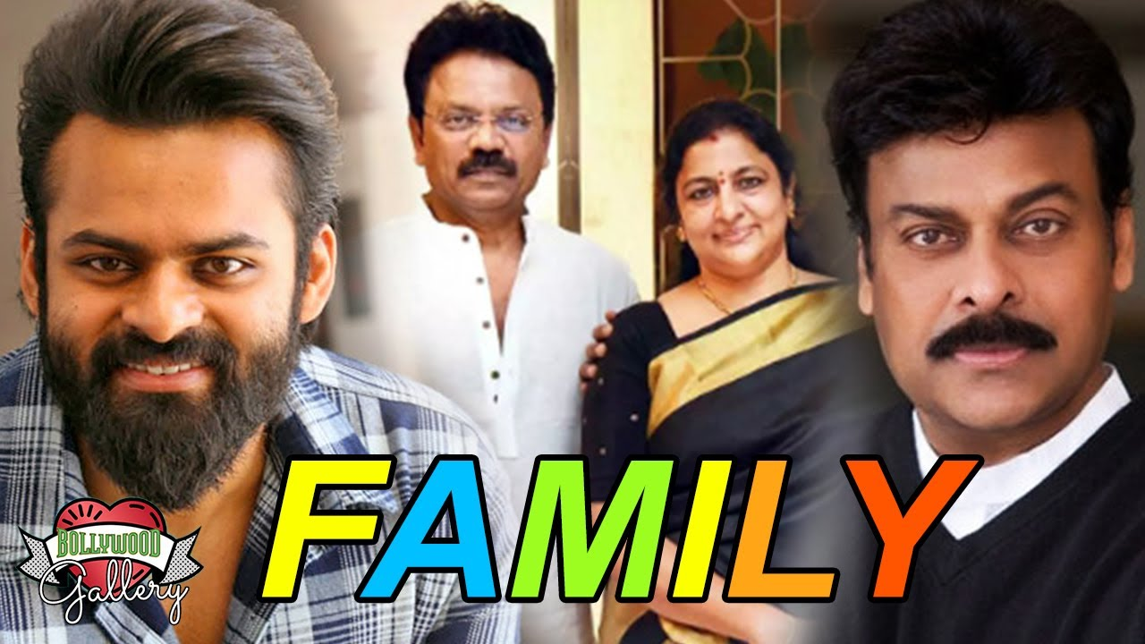 Sai Dharam Tej Family With Parents Brother Uncle Cousin Youtube