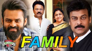 Sai Dharam Tej Family With Parents, Brother, Uncle & Cousin