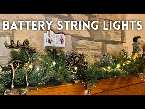 Battery Operated LED String Lights Review