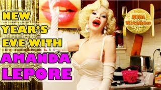 Ep 20: Chocolate Coconut Cupcakes & Champagne Punch w Amanda Lepore