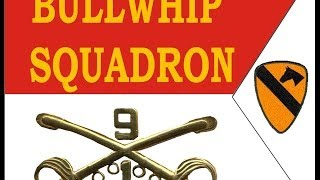 1st Squadron 9th Cavalry Bullwhip Squadron Association Memorial Video  2006 ver 2