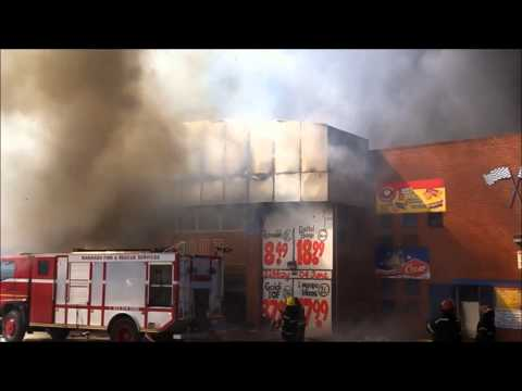 CheckOut store in Makhado (Louis Trichardt) destroyed in devastating fire