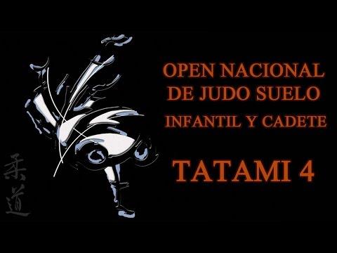TATAMI 4 OPEN NACIONAL DE JUDO SUELO INFANTIL Y CADETE 2017
