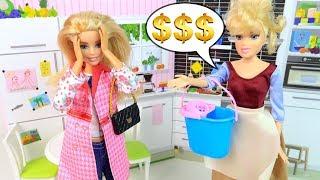 НЕУДОБНЫЕ ВОПРОСЫ ДОМРАБОТНИЦЫ Мультик #Барби Школа Сериал Куклы Игрушки для девочек