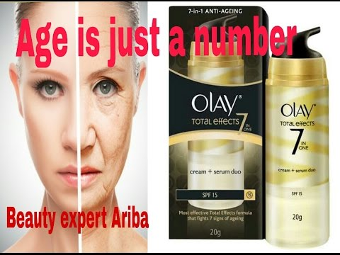 Olay Total Effects 7 in one ll Anti Ageing cream ll age is just a number. Look more younger