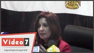بالفيديو.. نبيلة مكرم تزور مطار سوهاج لبحث مشكلة شحن جثامين العمالة المصرية بالخارج غدا