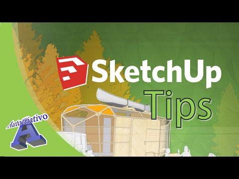 Curso de SketchUp Tips - Aula 01/60 - Apresentação do Curso - Autocriativo