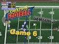 Backyard Football 1999 (PC) (SEASON 3) Game 6: Catastrophic Corruption