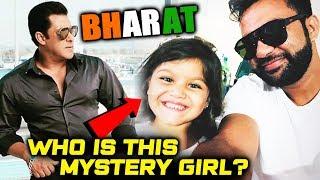 Cute Mystery Girl On The Sets Of Salman Khan's BHARAT