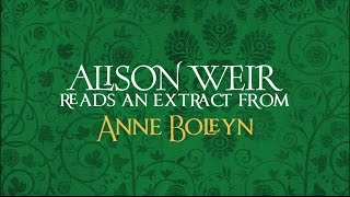 Alison Weir reads from her novel ANNE BOLEYN: A KING'S OBSESSION at Hampton Court Palace
