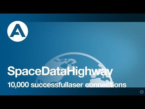 Airbus SpaceDataHighway - 10,000 successful laser connections