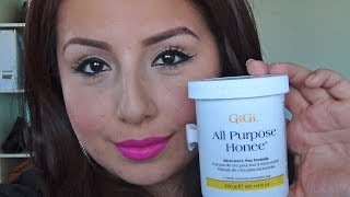 how to wax your eyebrows at home review gigi all purpose honee