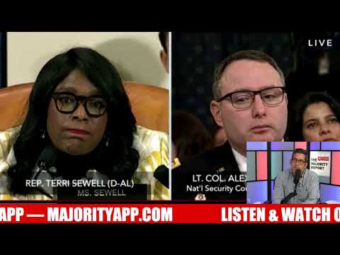 LIVE Trump Impeachment Hearings: Alexander Vindman & Jennifer Williams - MR Live - 11/19/19