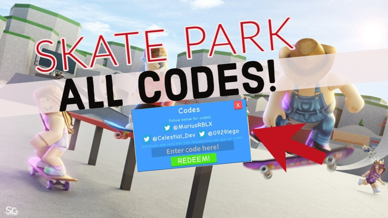 Roblox Skate Park All Codes 2020 Youtube