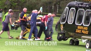 One Dead in Military Helicopter Crash in Leonardtown