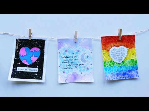 DIY LOVE CARDS 💜💚💛 DIY gifts for boyfriend  😍 VALENTINE'S DAY GIFTS FOR HIM