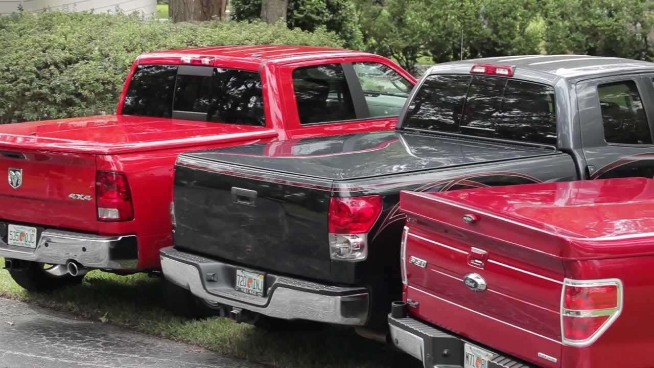 Hard Hinged Painted Tonneau Cover Product Review at ...
