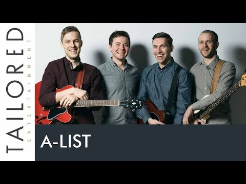 A-List - Live Wedding Function Band For Hire
