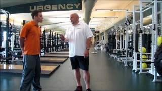 Coach Dillman of IMG Sports Academy on 40 Start (thigh pop)
