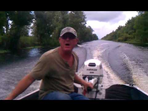14ft Aluminum v hull with 2013 Evinrude 25hp