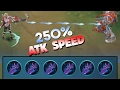 Mobile Legends MIYA 250  ATK SPEED