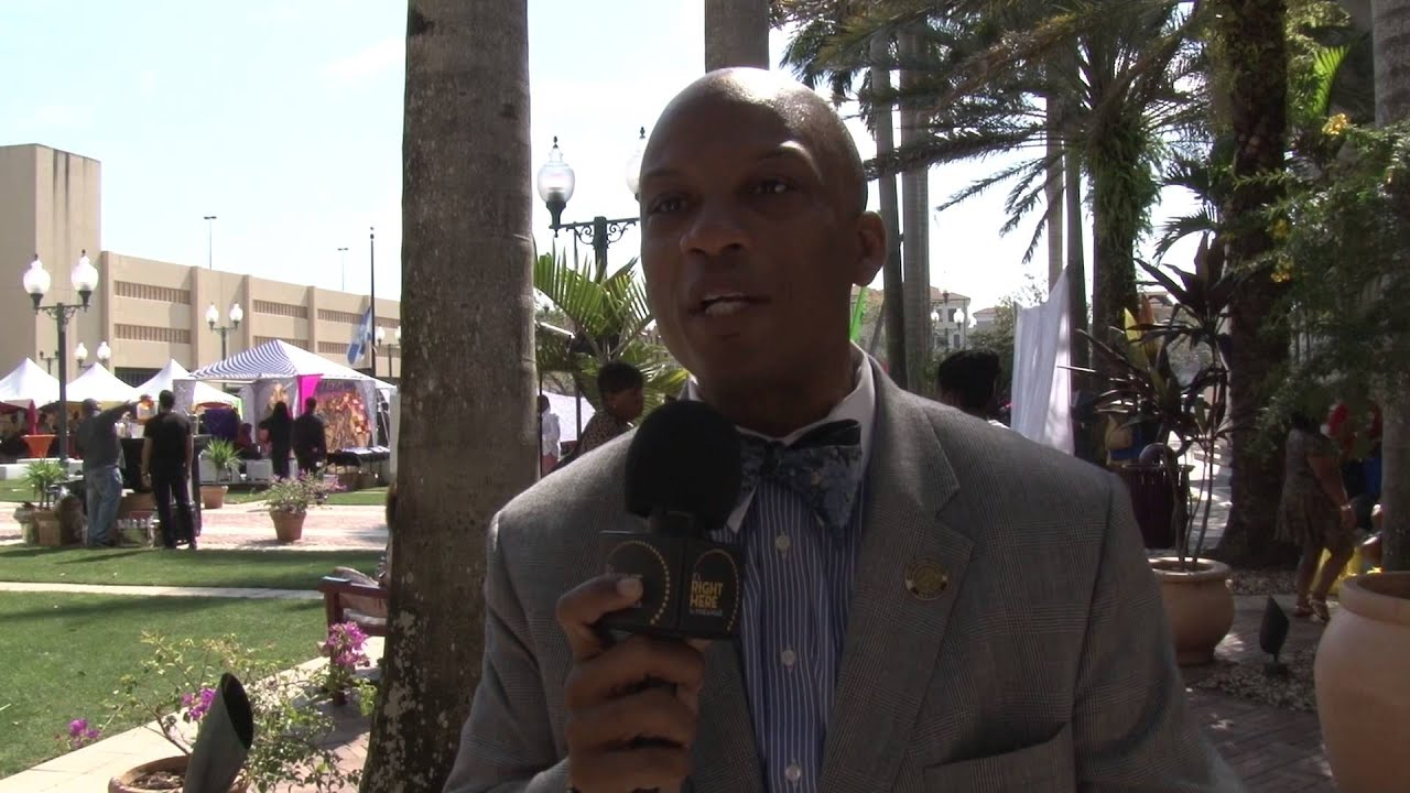 Mayor Oliver Gilbert Of The City Of Miami Gardens Youtube