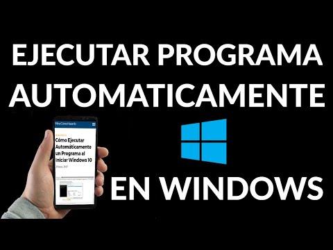 Cómo Ejecutar Automáticamente un Programa al Iniciar Windows 10