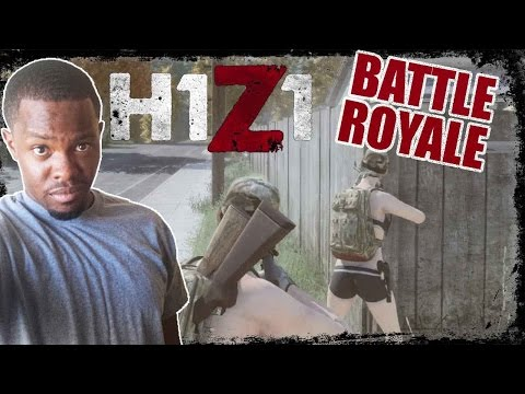 Battle Royale H1Z1 Gameplay - AK47 UPDATE! | H1Z1 BR Gameplay