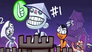 Troll Face Quest Video Games - Conquer Trollface | All Levels Walkthrough