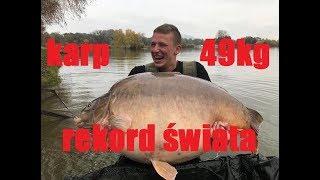 Karp 49 kg REKORD ŚWIATA